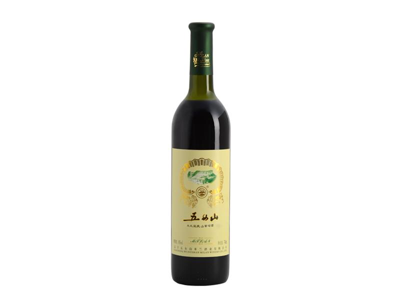 五女山米兰双庆山葡萄酒